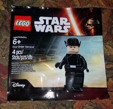 SDCC 2016 LEGO Star Wars #5004406 First Order General Minifigure Sealed Polybag