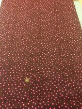 100% cotton quilting Fabric Brown Pink Spots Graphix Paint Brush Studio 120-102