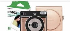 Fuji Instax SQ6 Instant Camera With 10 Shots And A Blush Gold Case Brand new