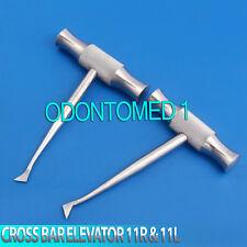 2 Pcs Cross Bar Dental Surgery Root Tooth Elevator Winter Cryer 11r Amp 11l