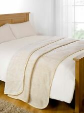 Large Luxury Faux Fur Throw Sofa Bed Mink Soft Warm Fleece Blanket