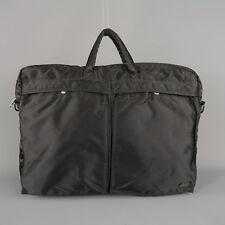 PORTER Black Nylon Messenger Bomber Style Bag