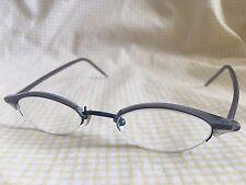 Zip + Homme Eyewear Z0103 Half Rim Cats Eye RX Eyeglasses 45 20 140