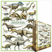 Eurographics Jigsaw Puzzle 1000 Pc Dinosaurs of the Cretaceous period 60000098