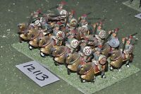 25mm roman era / roman - ancient cavalry 12 cavalry - cav (12113)