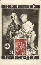 Belgian Belgie Postage Stamp Image Real Photo Postcard Enfant Petit St. Jean