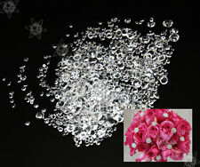 1000 Wedding Decoration Scatter Crystals Table Diamonds Mixed Size