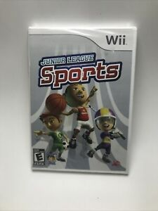 New Nintendo Wii : Junior League Sports VideoGames, Sealed.