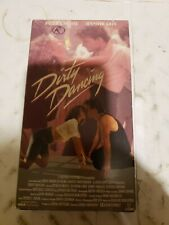 Dirty Dancing (VHS, 1988) Patrick Swayze, Jerry Orbach, Cynthia Rhodes