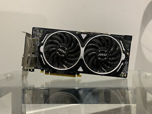 MSI Radeon RX 580 Armor 8G OC - 8GB Graphics Card (Faulty)