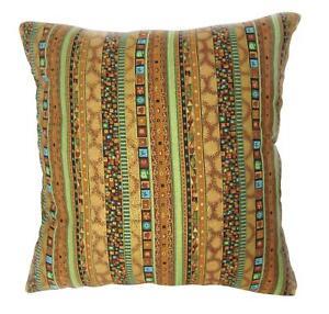 Ah3 Cotton Cushion Cover*Striped sofa seat Throw Oblong Pillow Case*Custom Size