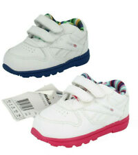 Childrens Boys or Girls Unisex Reebok Leather Trainers : VERSA CL