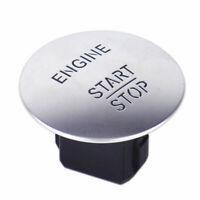 12V Car Engine Start Push Button Switch Ignition Starter Kit Blue LED Ornate