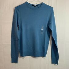 UNIQLO Womens NWT Extra Fine Merino Wool Crew Neck Sweater