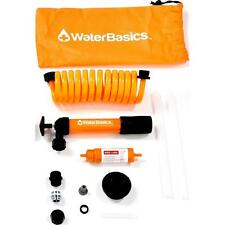WaterBasics Emergency Pump and Filter Kit w/RED Line, Series 2, 120 gal capacity