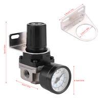 G1/4 Adjustable Pneumatic Regulator Air Pressure Compressor Control Valve Gauge