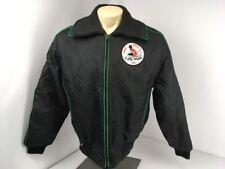 Vtg 80s Midwest Fox Point Snowmobile Ski - Winter Jacket Sz XL Retro Sno Devil's
