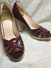 Cole Haan Charlize Air.Pump Wine Patent