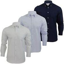 Unifarbene Herren-Freizeithemden aus Polyester