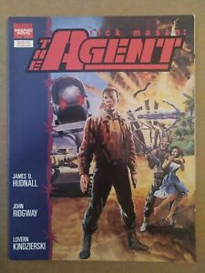 Marvel Graphic Novel #57 The Agent(1st app Rick Mason) Black Widow movie CBG1951