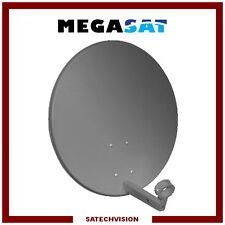 Parabole Acier Ø 60 cm Anthracite Gain 36 dB Megasat TNTSAT FRANSAT