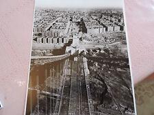 1937 George Washington Bridge Amman Construction engineer photo New York City !