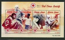 SIERRA LEONE 2015  RED CROSS SOCIETY SHEET  MINT NEVER HINGED