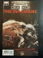 DEATH of the INHUMANS #5a (2018 MARVEL Comics) ~ VF/NM Comic Book