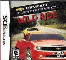 Chevrolet Camaro: WILD RIDE (Nintendo NDS 2010) Free US Shipping