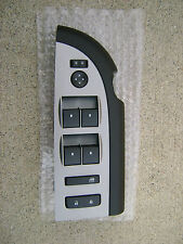 07 - 10 CHEVY SILVERADO SIERRA 4D CAB DRIVER SIDE MASTER WINDOW SWITCH BLACK NEW