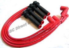 Accord Civic 1.6 2.2 92-02 10 mm High Performance Red Spark Plug Wire Set 28350R