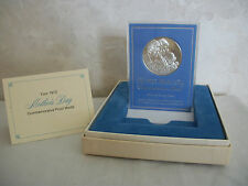 1972 Mother's Day Commemorative Medal. It is A Sterling Proof. (#0642)