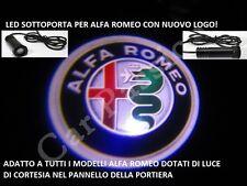 Luci proiettori Led portiera logo Alfa Romeo GIULIETTA MITO 147 159 GT 156
