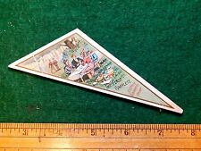 1870s-80s St, Charles Cream Odd Shaped Victorian Trade Card F7