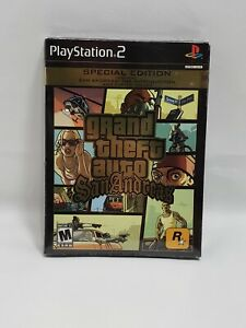 Grand Theft Auto: San Andreas Special Edition (Sony PlayStation 2, 2005) PS2 NEW