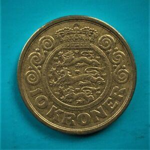 1989  10 KRONER DANMARK COIN