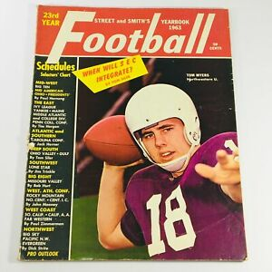 VTG Pro Football Yearbook 1963 - Tom Myers of Northwestern U. & Jack Cvercko