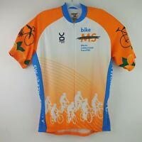 VOMAX Men's Size XXL Club Cut Bike Cycling Jersey Bicycle Citrus Tour Orange B5