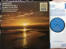 Decca SPA 122 SIBELIUS Symphony 5, Karelia Suite GIBSON LSO stereo TAS NM