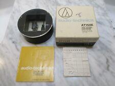 AUDIO TECHNICA AT15XE CARTRIDGE & GENUINE AUDIO TECHNICA ATN-15XE STYLUS - CASE
