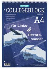 Collegeblock DIN A4 für Rechts & Linkshänder liniert