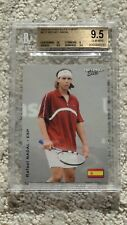 2003 Rafael Nadal ROOKIE card Netpro Elite Event BGS 9.5 PSA gem Mint GOAT!
