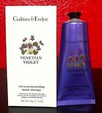 Crabtree & Evelyn Venetian Violet Ultra Moisturizing Hand Therapy 3.5 oz. NIB