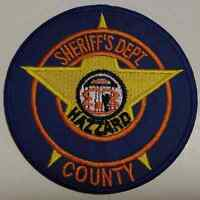 The Dukes of Hazzard - Hazzard County Sheriff Dept Patch - Costume Prop Replica