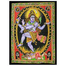 Telo da muro Danza Shiva, multicolore, Cotone 75 cm x 110 cm Yoga Meditazione