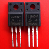 10PCS  CS8N60F   TO-220 NEW