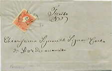 AUSTRIA (TRENTINO), ANNULLO VEZZANO (1859), FRANCOBOLLO 5 KR             m
