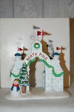 Dept 56 Heritage Village Accessory 'North Pole Gate'