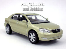 Toyota Corolla 1/36 Scale Diecast Model by Kinsmart - GOLD