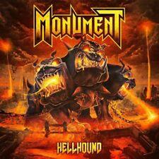 MONUMENT - Hellhound (NEW*LIM.BLACK VINYL*IRON MAIDEN*WHITE WIZZARD)